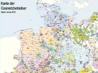 Lutum+Tappert Karte der Gasnetzbetreiber